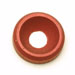 Countersunk Flat Washers Red