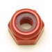Metric Lock Nuts Red Anodized Aluminum