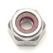 Metric Lock Nuts Plain Aluminum
