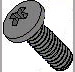 Din 7985 A Metric Phillips Pan Machine Screw Black Oxide Oiled Dry To Touch