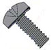 Phillips Pan External Sems Machine Screw Fully Threaded Black Oxide