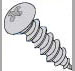 Round Head Phillips Sheet Metal Screws Plated