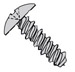 Phillips Truss High Low Screw Fully Threaded Zinc And Bake