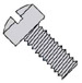 Slotted Fillister Machine Screw Fully Threaded 18 8 Stainless Steel