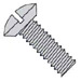 Slotted Oval Undercut Machine Screw Fully Threaded 18 8 Stainless Steel