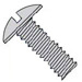 Slotted Truss Machine Screw Fully Threaded Zinc