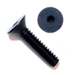 1/4-20 x 5/8 Flat Head Socket Screws - Black Qty. 50