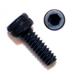 2-56 x 3/16 Socket Head Cap Screws Plain Aluminum - Black Qty. 25