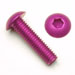 4-40-x-3/16-Button-Head-Socket-Cap-Screw-Purple-Qty-25