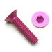 M3-X-.5-X-15MM-Flat-Head-Socket-Cap-Screw-Purple-Anodized--100-Pieces-