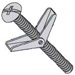 Combination Round Head Toggle Bolt Zinc