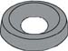 Countersunk Finishing Washer Black Oxide