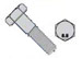 Din 931 8 Point 8 Metric Partially Threaded Cap Screw Zinc