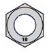 Din 934 Metric Class 10 Hex Nuts Plain