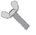Light Series Cold Forged Wing Screw Type A Zinc