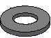 Machine Screw Washer Black Oxide