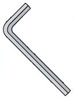 Metric Hex Key Wrench Short Arm Plain