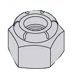 Nylon Insert Heavy Pattern Hex Nut Zinc