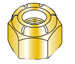 Nylon Insert Hex Lock Nut Zinc
