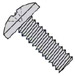 Phillips Binding Undercut Machine Screw Fully Threaded Zinc