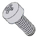 Phillips Fillister Head Machine Screw Fully Threaded Zinc