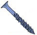 Phillips Flat Concrete Screw With Drill Bit Blue Perma Seal