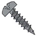Phillips Pan Head Fine Drywall Framing Screw Black