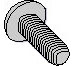 Phillips Pan Taptite Thread Rolling Screw Fully Threaded Zinc Bake And Wax