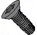 Six Lobe Torx Undercut Floor Board Screw Type F Fully Threaded Black Phosphate