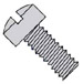 Slotted Fillister Head Machine Screw Fully Threaded Zinc