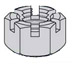 Slotted Hex Nut Zinc