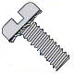 Slotted Pan External Sems Machine Screw Fully Threaded Zinc