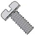 Slotted Pan Internal Sems Machine Screw Fully Threaded Zinc