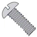 Slotted Round Machine Screw Fully Threaded 18 8 Stainless Steel