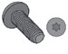 Torx(R) Pan Taptite Thread Rolling Screw Fully Threaded Black Oxide And Wax